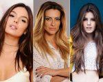 Isis Valverde, Cleo Pires e Camila Queiroz não abrem mão do cabelão liso