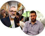 Massimo Bottura e Gustavo Cedroni