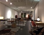Interior do showroom No boarders for design, em Miami