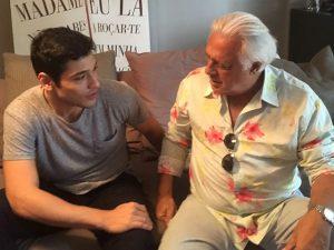 Bruno e Antônio Fagundes