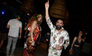 Beto Silva comemora 45 anos no restaurante Prado, no Jockey Club do Rio