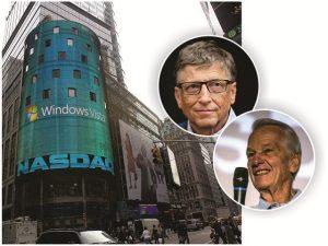 Empresa de Jorge Paulo Lemann investe em ações da Microsoft e se dá bem