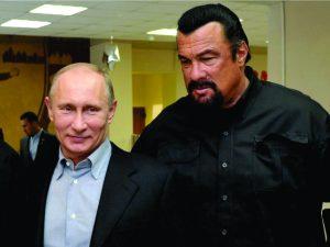 BFF de Vladimir Putin, Steven Seagal ganha cidadania russa