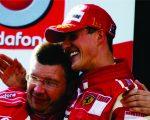 Ross Brawn e Michael Schumacher