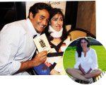 Luciano Szafir e a irmã Alexandra Szafir, que recebeu homenagem do irmã e da mãe, Beth Szafir, no Instagram