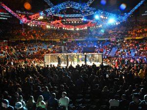 UFC Fight Night teve atrações para o público além do octógono