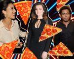 Andreia Horta, Monica Iozzi e Ícaro Silva: pizzas e dancinhas no Jerome!