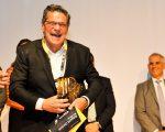 Edgard Corona, ao receber o Prêmio Empreendedor do ano da EY 2017