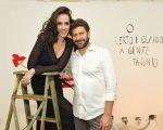 Ana Isabel de Carvalho Pinto e Eduardo Kyrillos