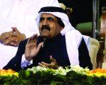O sheik Hamad bin Khalifa Al Thani