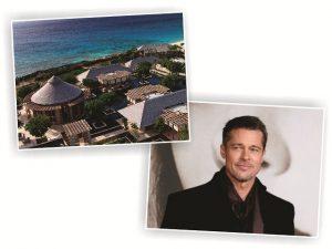 Brad Pitt banca viagem com amigos para resort de US$ 34 mil a diária
