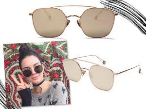 Desejo do Dia: marca de óculos queridinha de Kendall Jenner está no Brasil