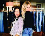 As sócias Emma Grede e Khloe Kardashian