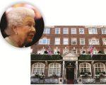 Elizabeth II e o hotel Goring, em Londres