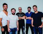 João Vicente, Gregório, Antônio, Ian e Fábio