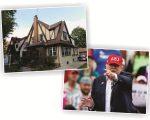 A primeira casa de Trump, no Queens, em NY