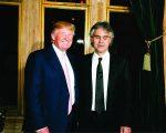 Donald Trump e Andrea Bocelli