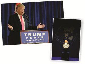 Marca de relógios suíça pode encerrar com Trump tradição de mais de 60 anos