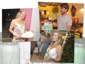 LIV Drinks presenteou glamurettes com kits perfeitos para os dias de praia