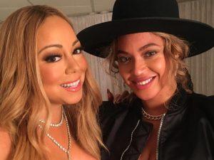 Beyoncé vai a show de Mariah Carey e recebe declaração fofa da cantora