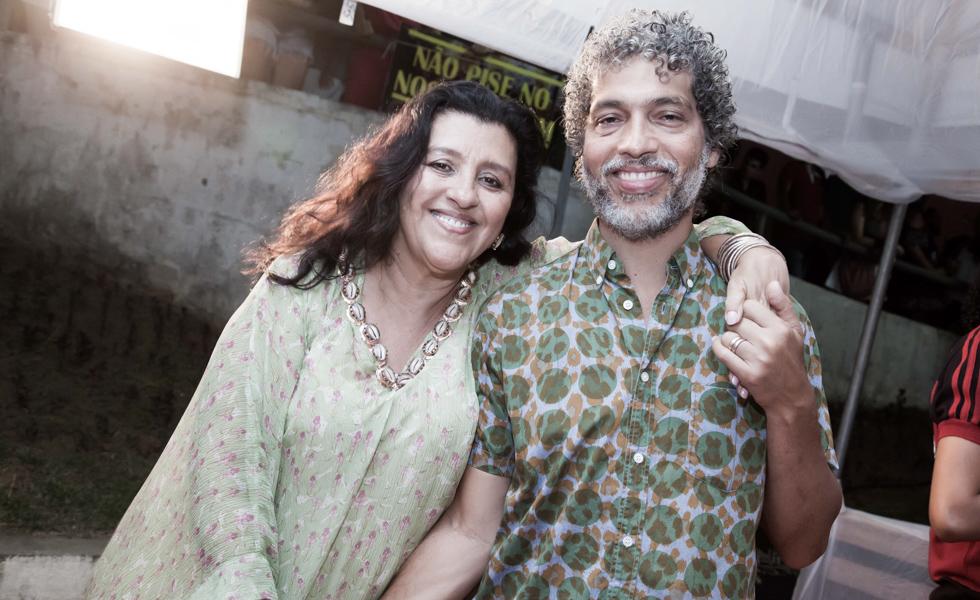 Regina Casé e Estevão Ciavatta
