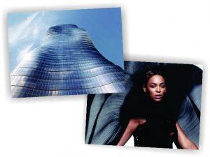Torre inspirada nas formas de Beyoncé começa a ser construída na Austrália
