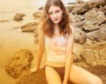 Um dos looks da coleção de primavera/verão da Calvin Klein Jeans