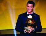 Cristiano Ronaldo recebe a Ballon d'Or de 2016