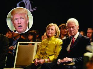 Extra! Bill e Hillary Clinton estarão na cerimônia de posse de Trump