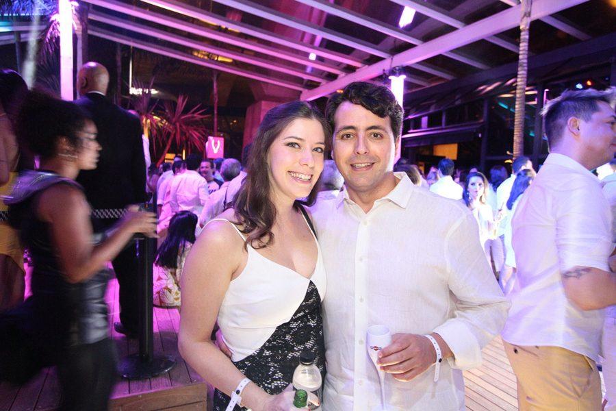 Cristina Castro e Rodrigo Borges