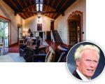 Clint Eastwood e a mansão de Pebble Beach