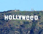 O letreiro de Hollywood, após a alteração