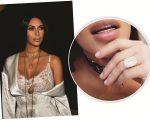 Kim Kardashian e o anel de US$ 4 milhões