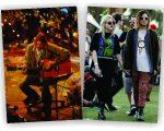 Kurt Cobain na gravação do 'MTV Unplugged', e o ex-casal Frances e Isaiah