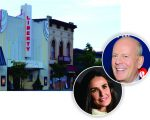 O teatro em Hailey, Demi Moore e Bruce Willis