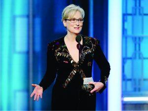 "Trump sobre discurso de Meryl Streep no Globo de Ouro: ""puxa saco da Hillary"""