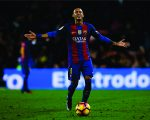 Neymar em campo