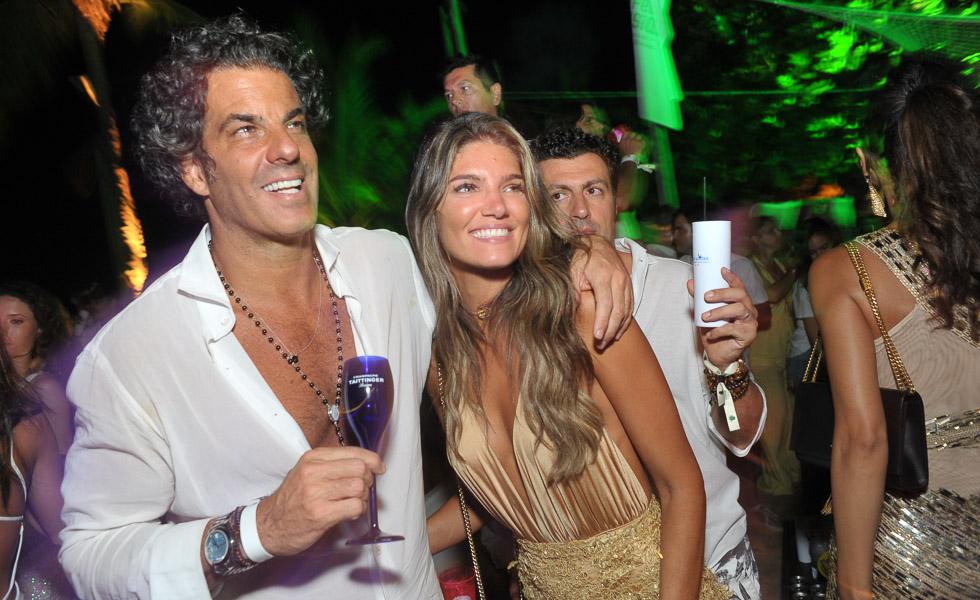 Alvaro Garnero e Lou Montenegro
