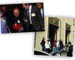 O cardeal Elio Sgreccia e o novo McDonald's perto do Vaticano