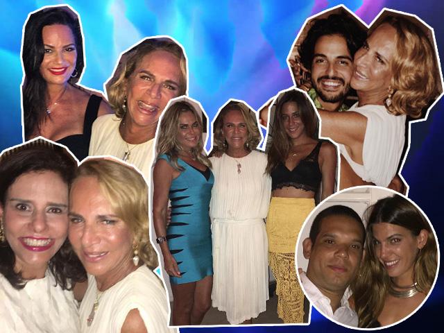 Lenny Niemeyer recebeu amigos para festão de aniversário no Rio de Janeiro...