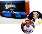 Bieber e sua Ferrari, e o boxeador Floyd Mayweather