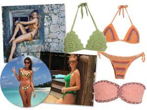 Trend alert! Biquíni de crochê domina as praias brasileiras neste verão