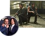 Norman Reedus e Andrew Lincoln
