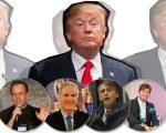 Trump e, nas imagens abaixo, Doria, Justus, Bolsonaro e Rey