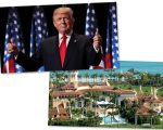 Trump e o resort Mar-a-Lago