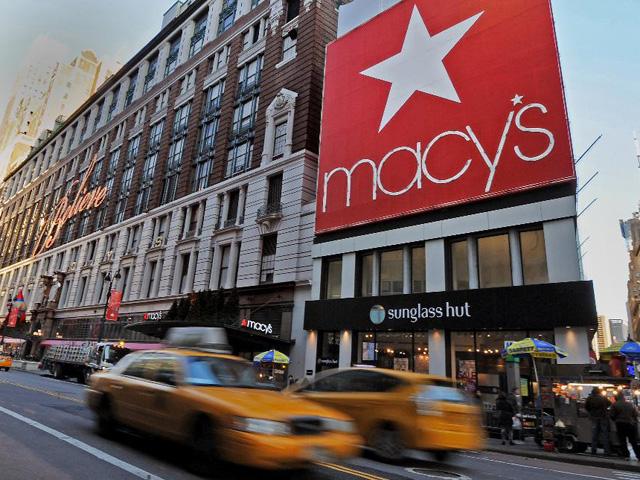 Fachada da Macy's em Nova York