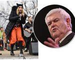 Madonna e Newt Gingrich