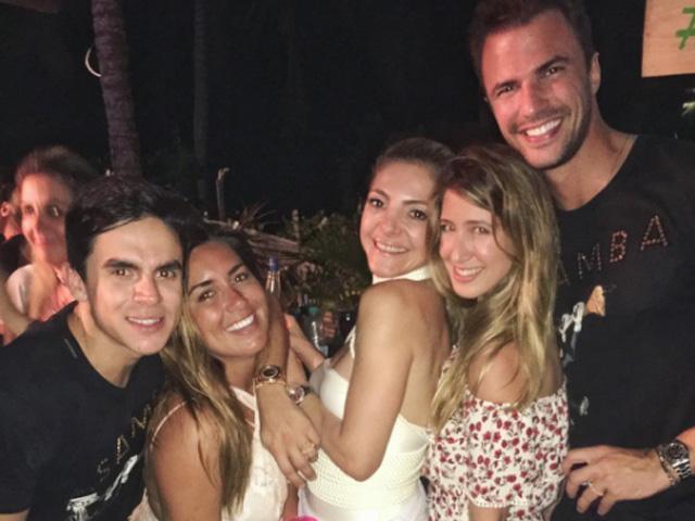 Marcelo Antunes, Rafaela Vidal, Karen Almeida, Daphne Mizrahy e Rodrigo Beze