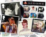Os dez selos criados pela Royal Mail em homenagem a David Bowie
