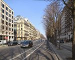 A Avenue Montaigne, em Paris